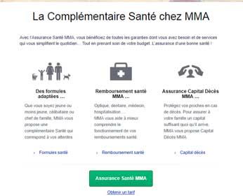 Devis Mutuelle MMA Santé