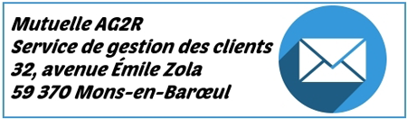 AG2R adresse courrier