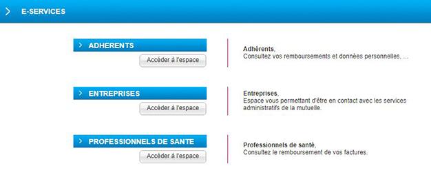 e-services ma nouvelle mutuelle