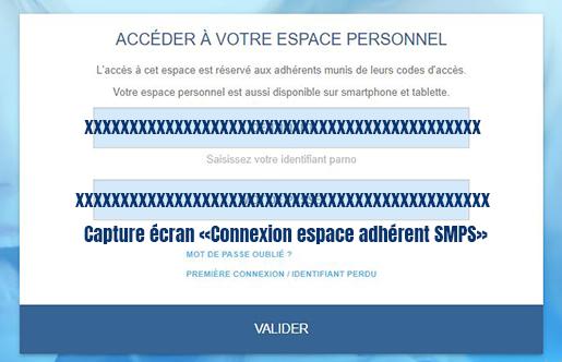 connexion espace adherent smps safran