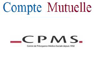 espace personnel cpms