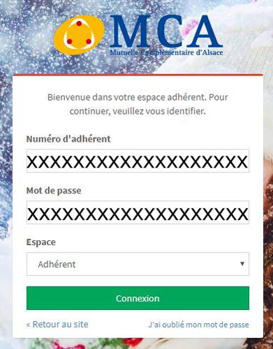 MCA Alsace connexion
