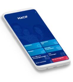 Application mobile Macif